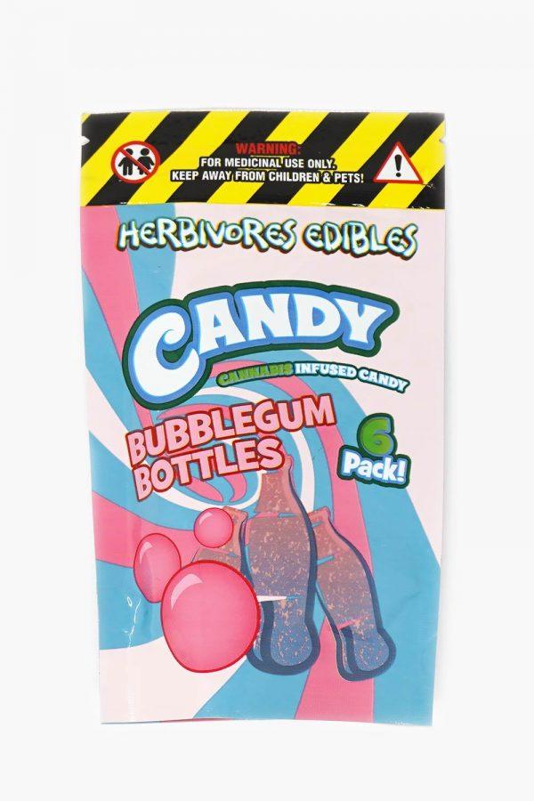 Herbivores Edibles Bubblegum Bottles