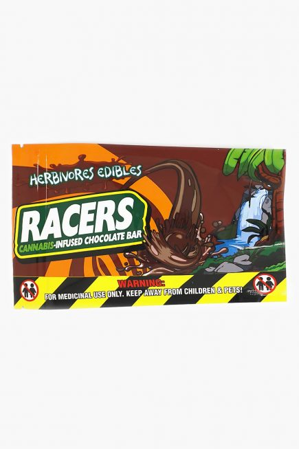 Herbivores Edibles Racers Chocolate Bar