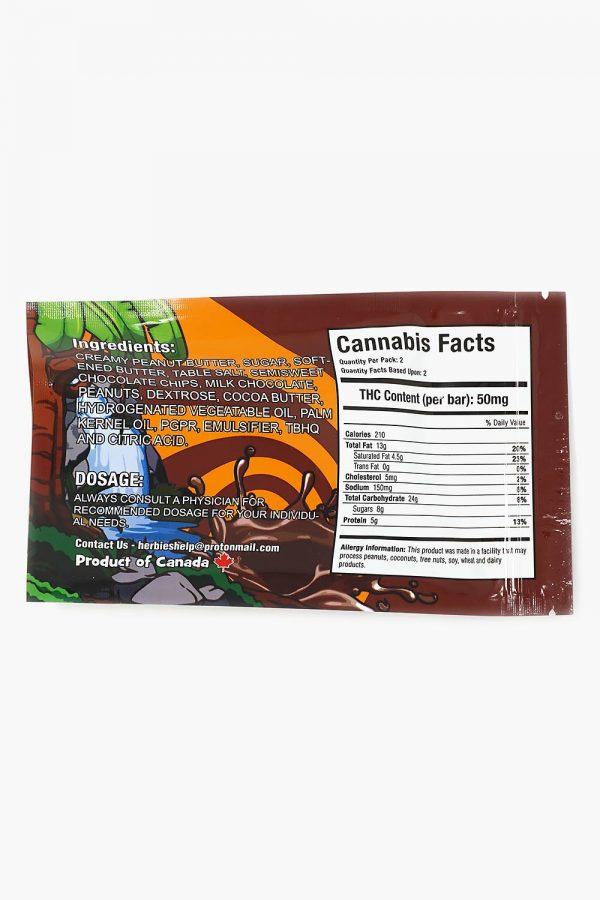 Herbivores Edibles Racers Chocolate Bar 3