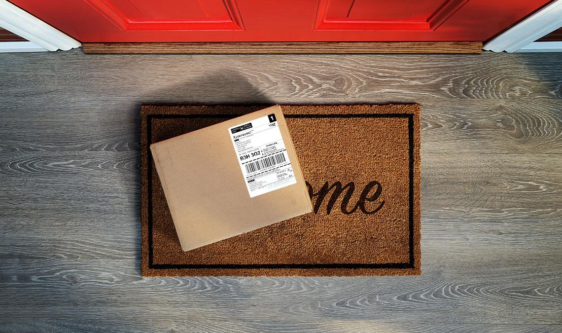 Weed Hub Package At Door Step