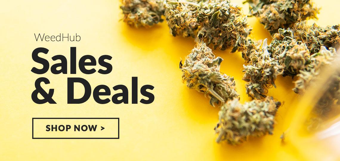 Weed Hub Sales & Deals Slider
