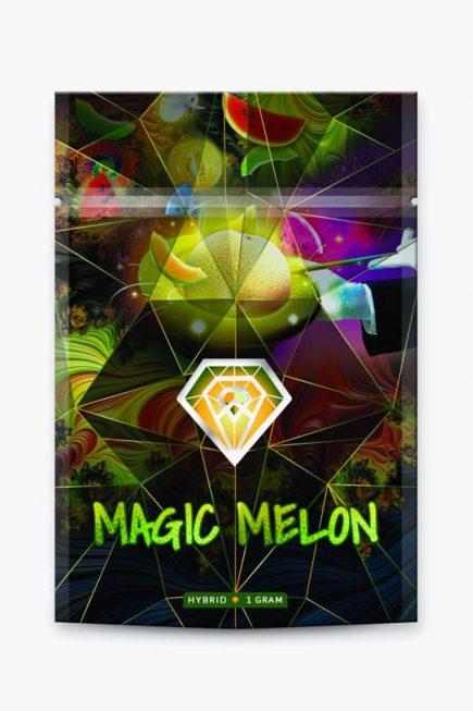 Diamond Concentrates Shatter Magic Melon Hybrid