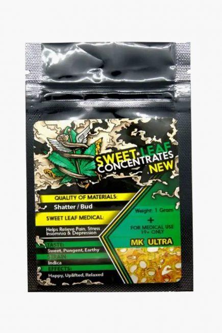 Sweet Leaf Concentrates 1g Shatter MK Ultra