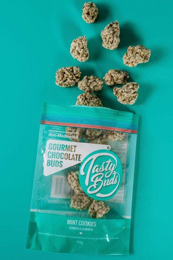 Tasty Buds Mint Cookies 112g