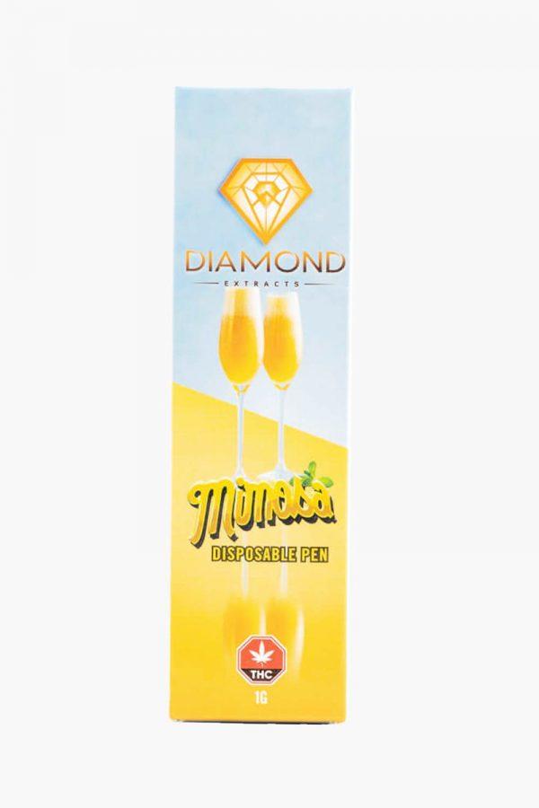 Diamond Concentrates Distillate Pen Mimosa 2