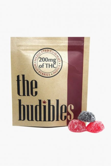 The Budibles Wild Medicated Berries 200mg THC