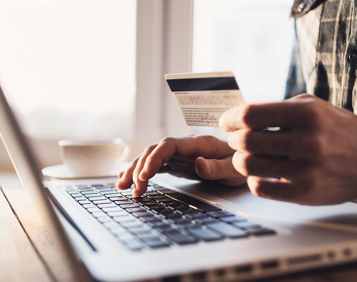 Entering Credit Card Details Online
